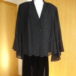 NWOT Dressbarn collection elegant dressy jacket.